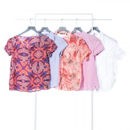 Womens Shirts summer Cream...