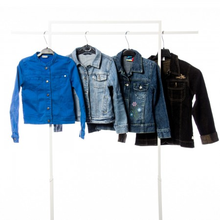Kids Jeans Jackets Mix