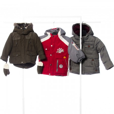 Kids Puffa Winter Cream +...