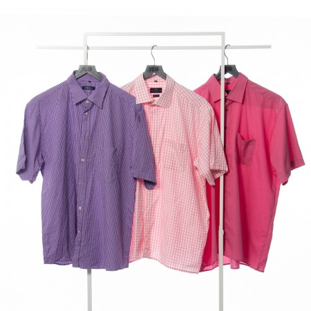 Mens XXL Shirts Summer Cream