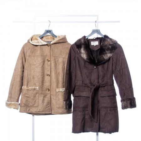 Faux Sheepskin Coat winter Mix