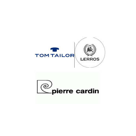 Pierre Cardin, Tom Tailor ,...
