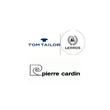 Pierre Cardin, Tom Tailor ,...